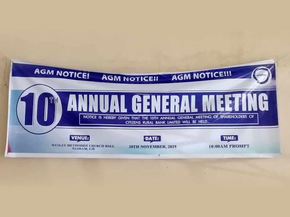 2019 Annual General Meeting Pictures